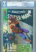 AMAZING SPIDER-MAN # 65 PGX WORLD GRADE 8.5