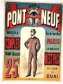EARLY TAYLOR SHOP FRENCH POSTER C 1880S RARE