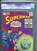 SUPERMAN 144 CGC GRADED 6.0
