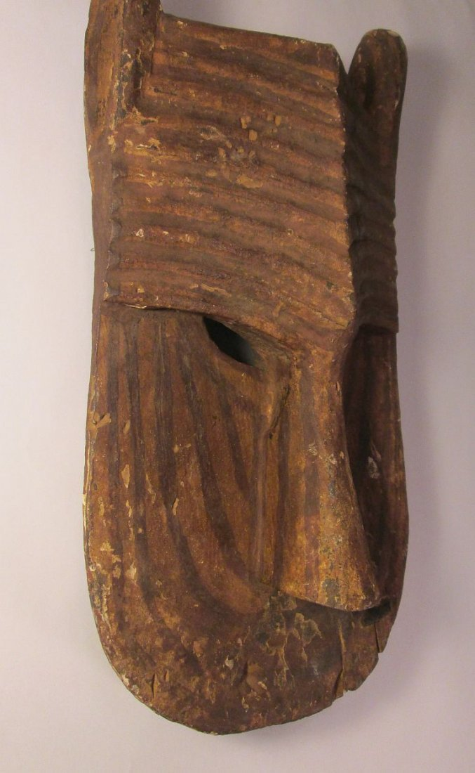 Old Bamana Lion mask, African Tribal Art - 3