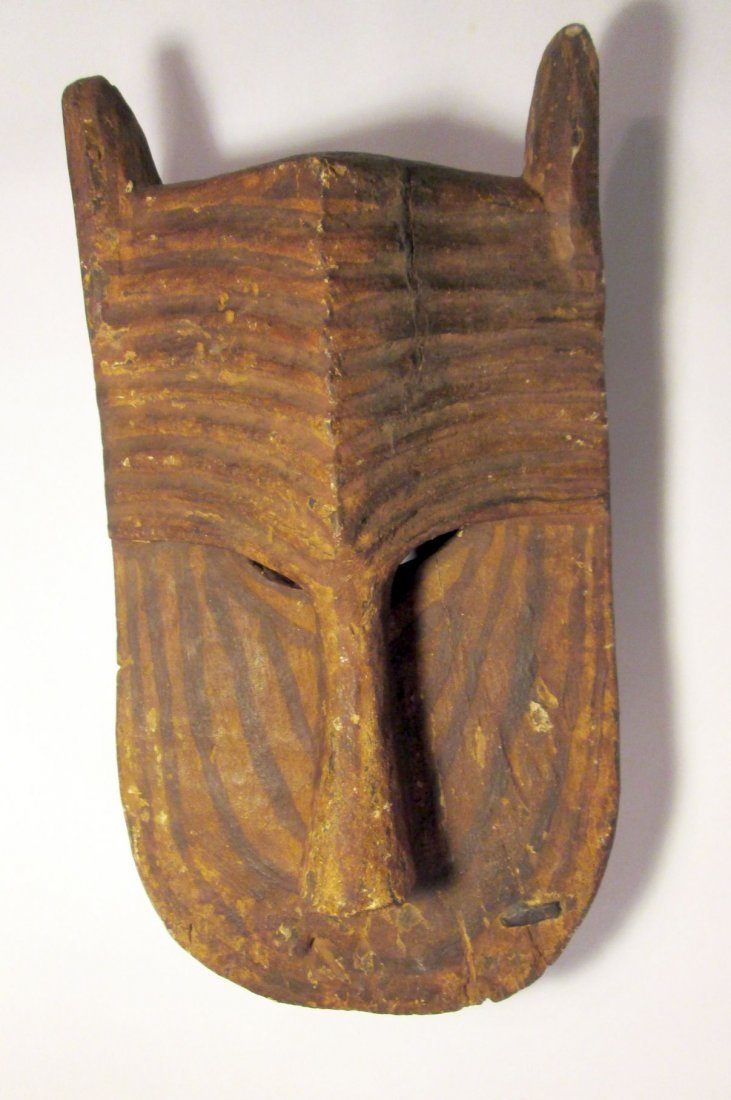 Old Bamana Lion mask, African Tribal Art - 5