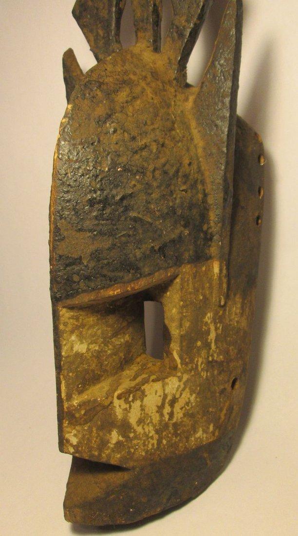Old Field used Dogon kanaga Mask, African Tribal Art - 5