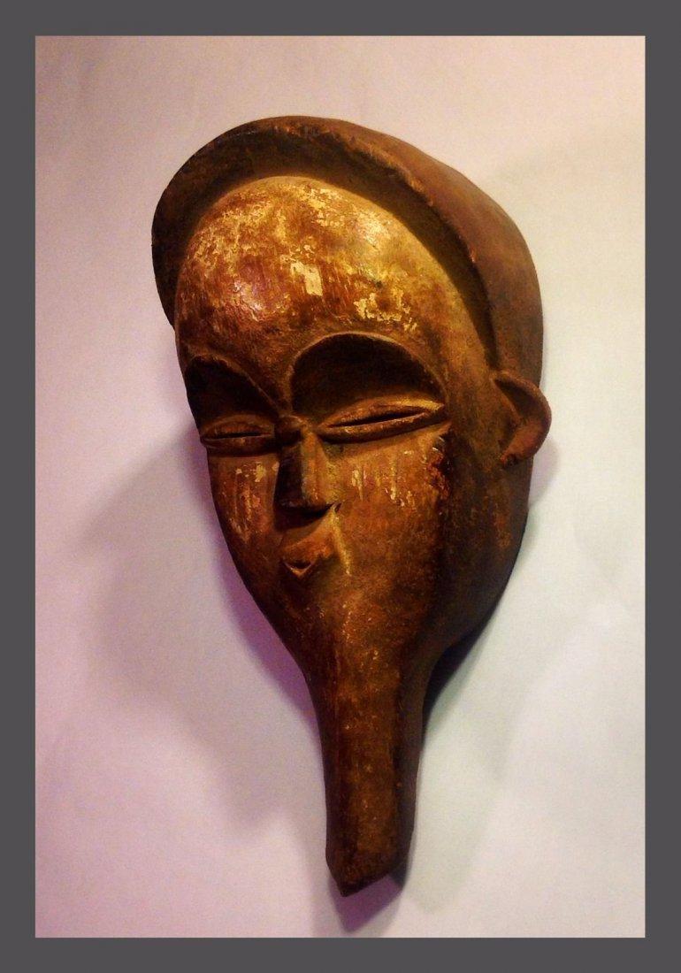 Vuvi hand held African Mask , African Tribal Art - 2