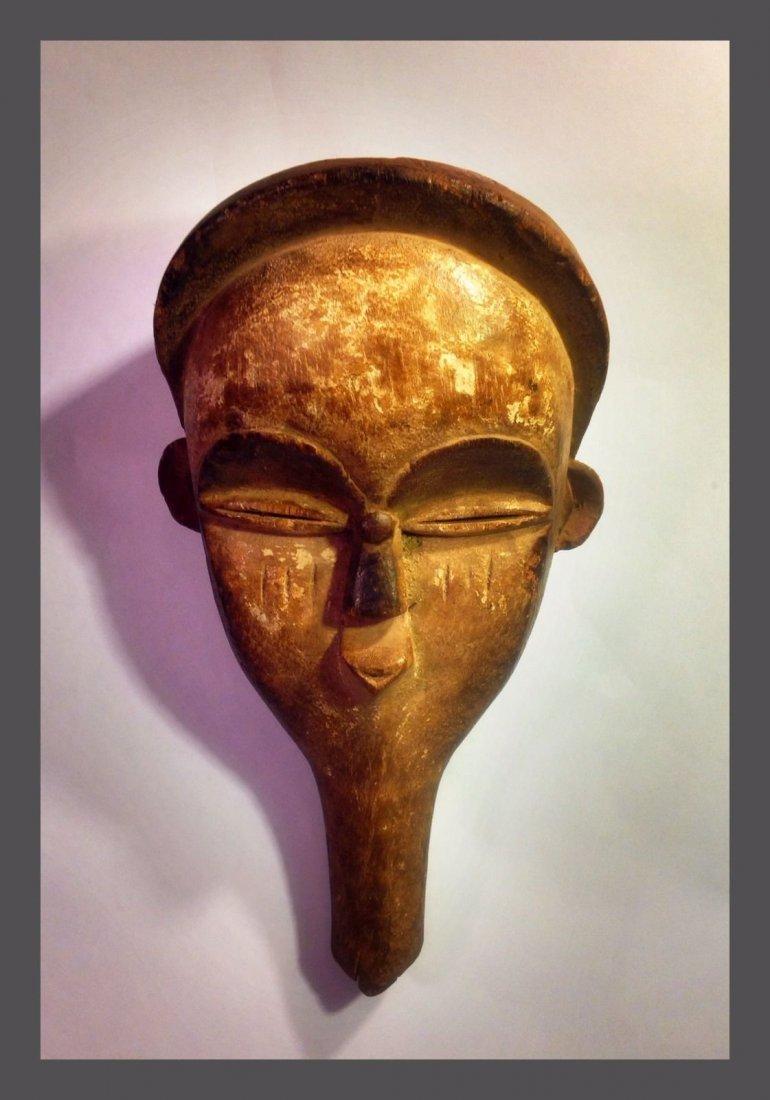 Vuvi hand held African Mask , African Tribal Art - 3
