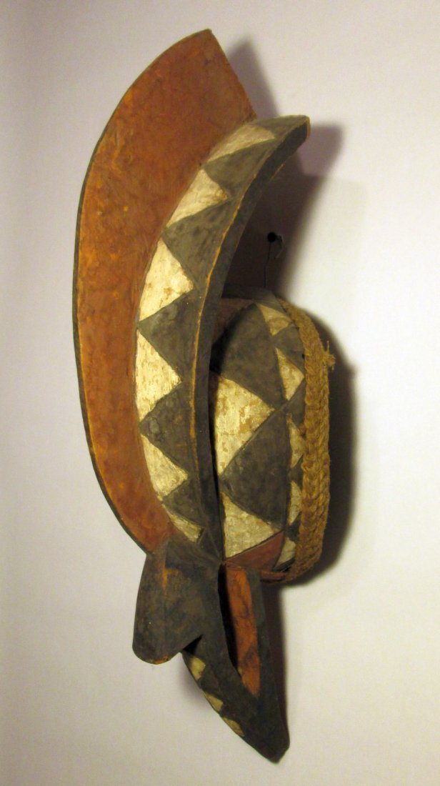 Mossi Rooster mask, African Art - 4