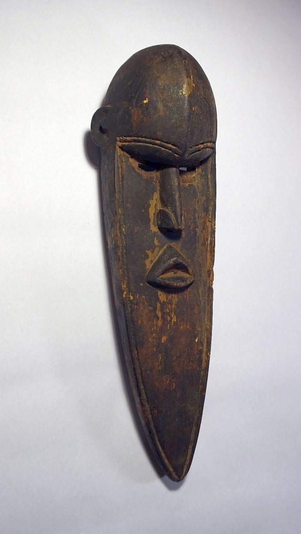 Elongated Abstract Toma African mask African Tribal Art