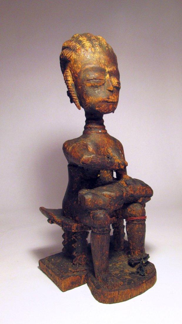 Rare Ashanti Maternity figure, Afrcan art, Mother