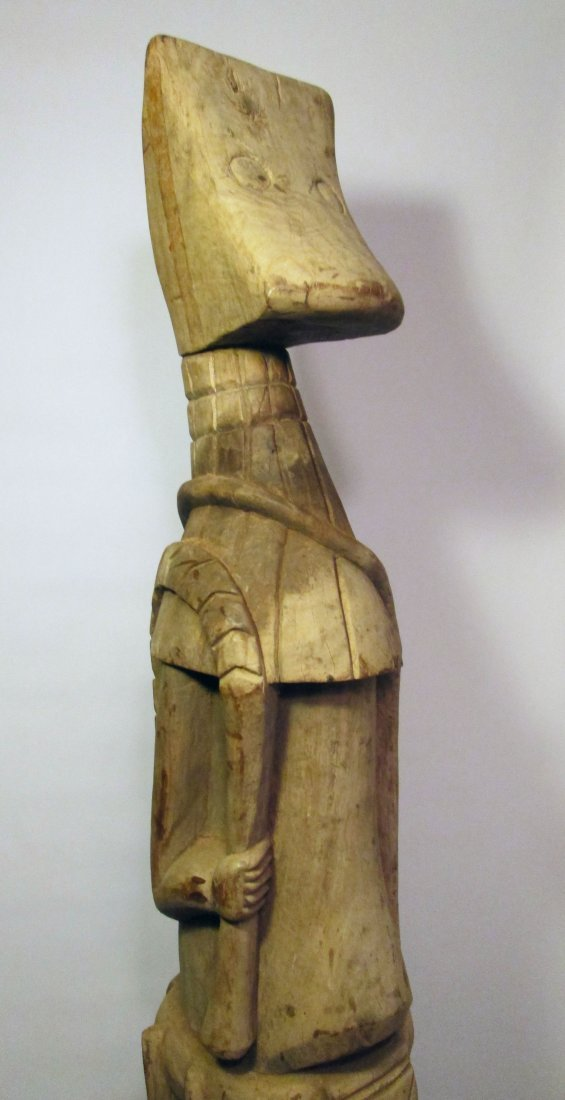Huge Old Senufo Village Guardian sculpture, African Art