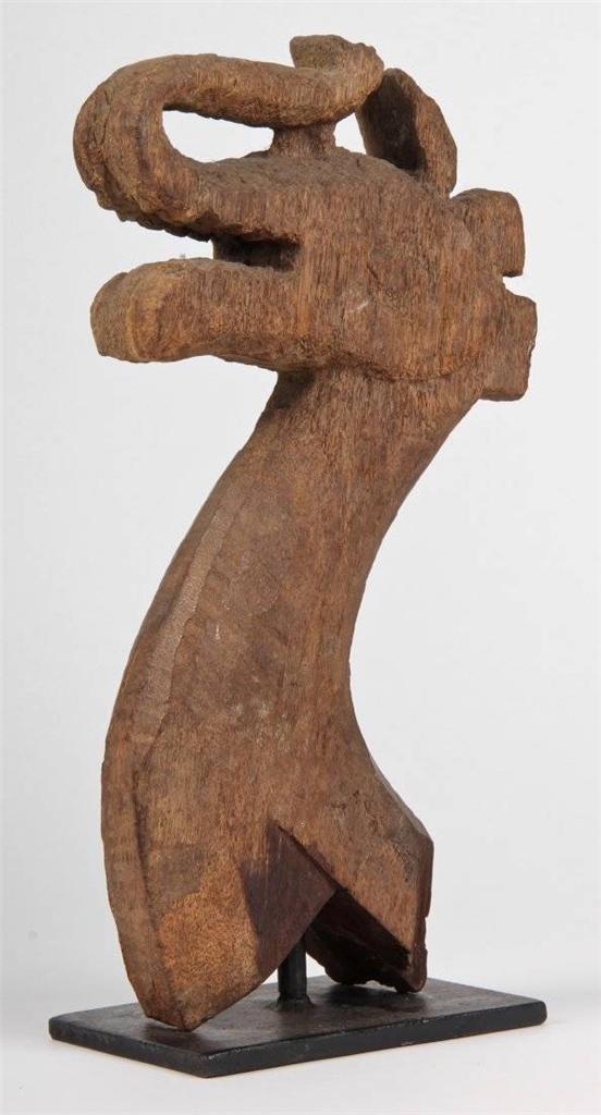 18th/19th century Dayak Naga Ossuary Finial, Indonesian