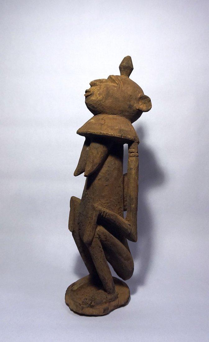 Dogon Star Gazer female idol, African Tribal Art