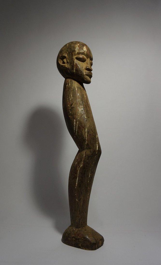 Lobi Magic fetish, Shrine Idol leg with Human head