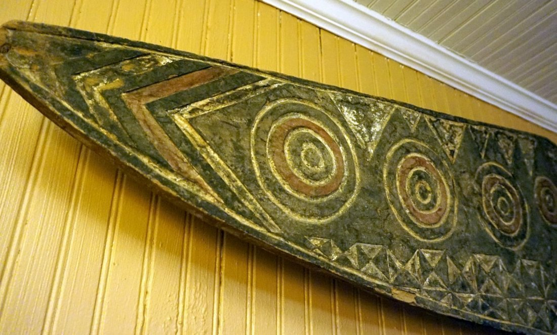Huge Bobo Butterfly mask , African Tribal Art ~6.5 ft ! - 5