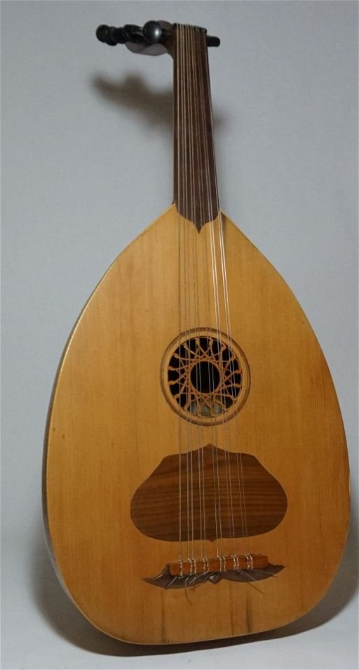 Classic Oud Arab Lute with hard case Musical Instrument