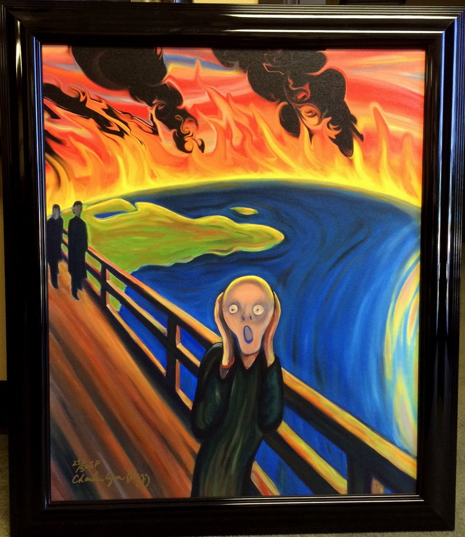 Earth Scream by Charles Lynn Bragg