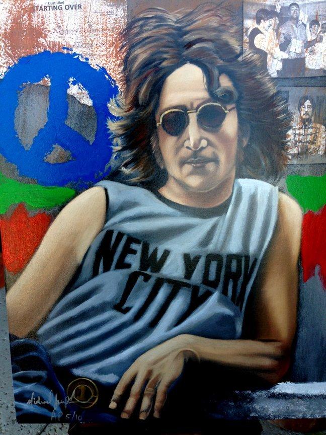 John Lennon -NYC by Michael Joseph