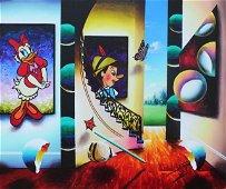 """Daisy and Pinocchio"" Original by Ferjo"