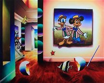 Mickey and Donald Barbershop Duet by Ferjo