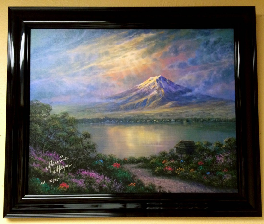 """""""Twilight at Mt Fuji"""" by Maurice Meyer"""