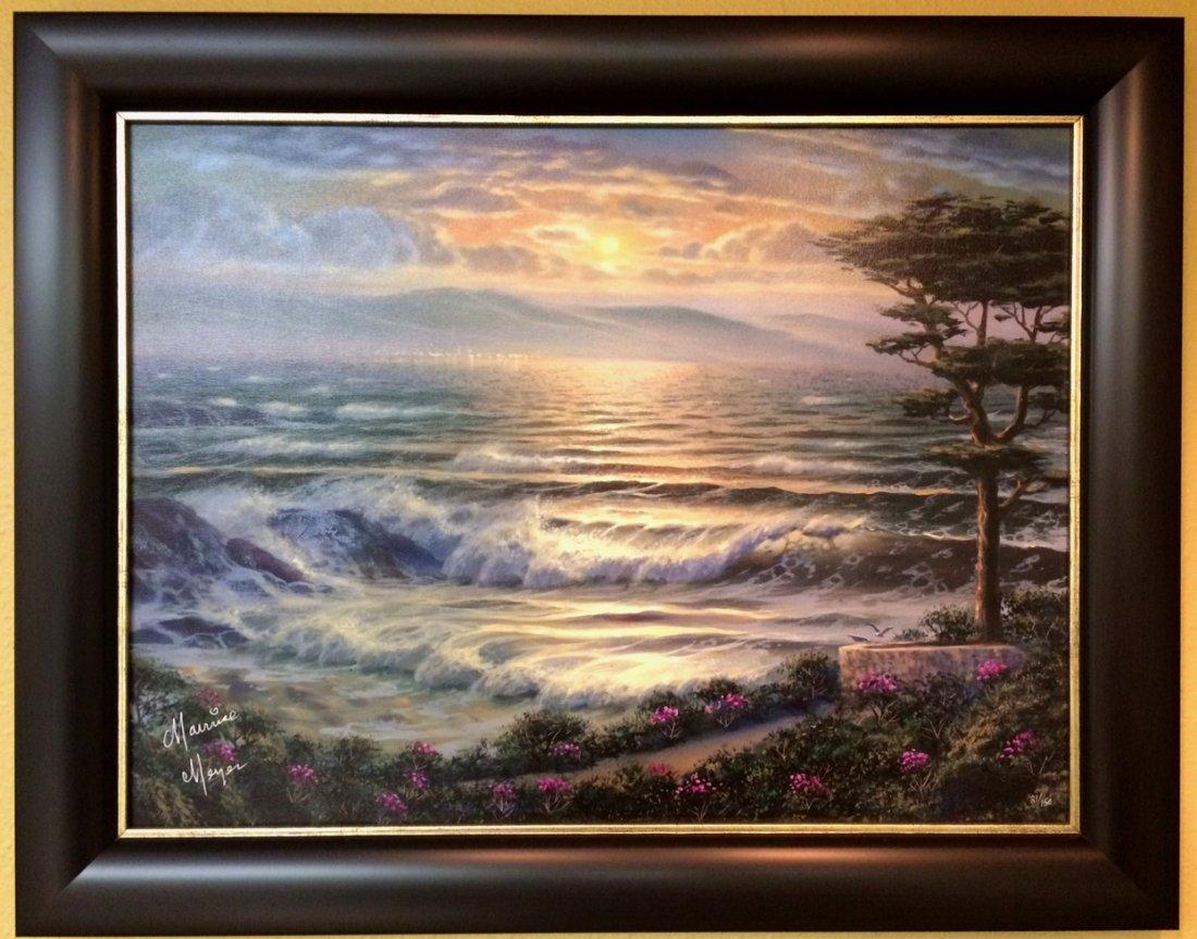 """Carmel Twilight"" by Maurice Meyer"