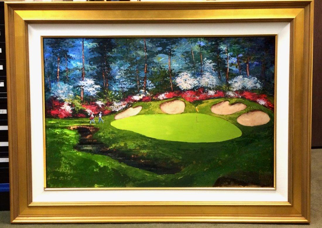 """Augusta Azalea Hole"" by Mark King"
