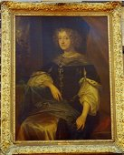 """""""Annabelle, Countess of Kent"""" by School of Peter Lely"""