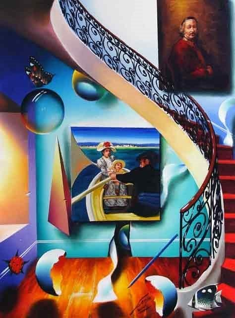 """""""Stairway to the Masters II"""" by Ferjo"""