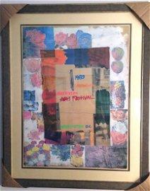 """Very Special Arts"" by Robert Rauschenberg"