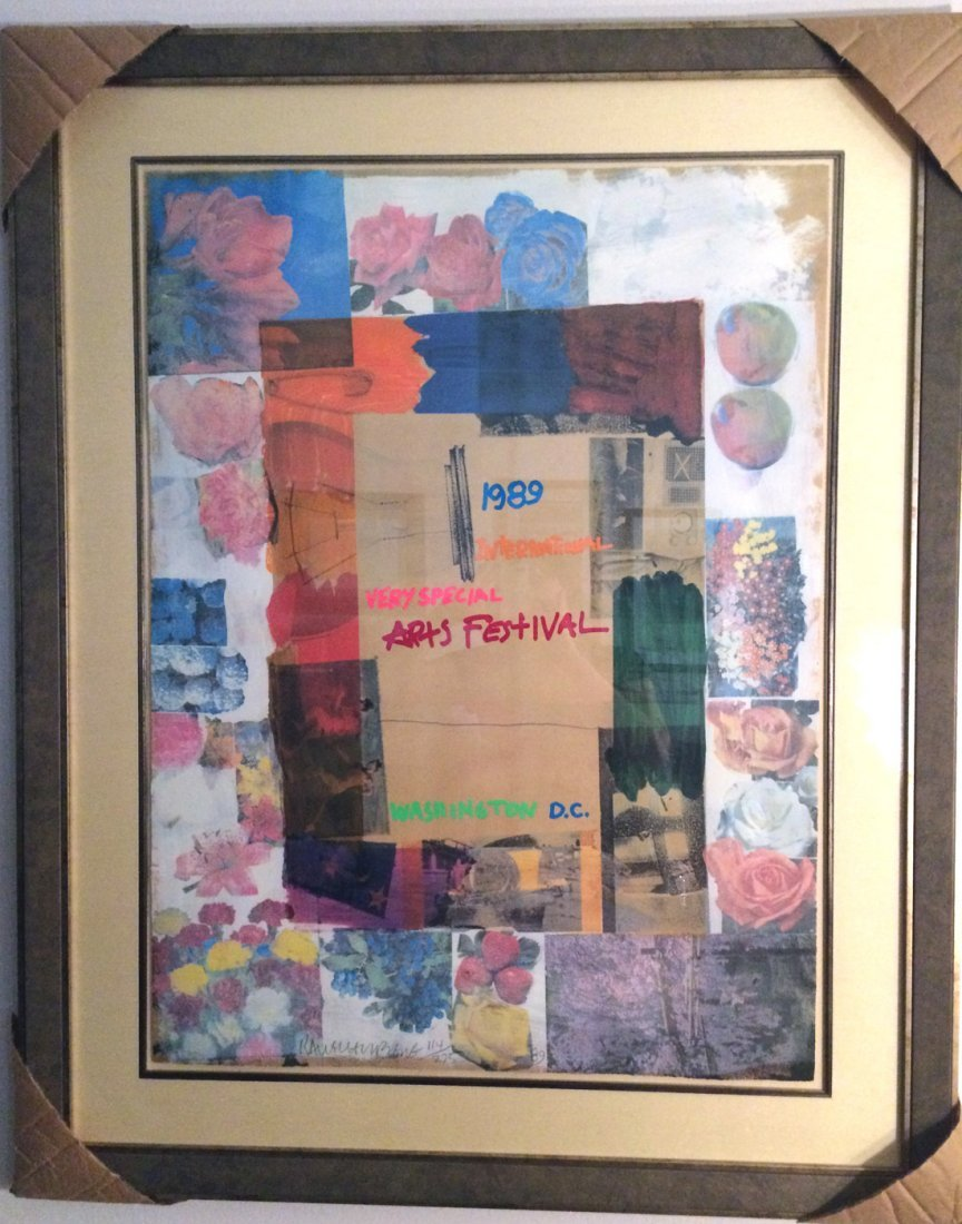 """Very Special Arts"" by Robert Rauschenberg"