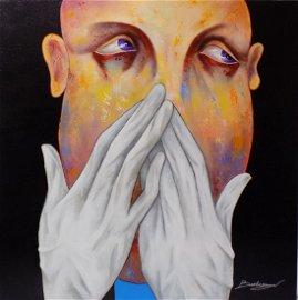 """Germaphobe by Berberyan 36x36"""""""