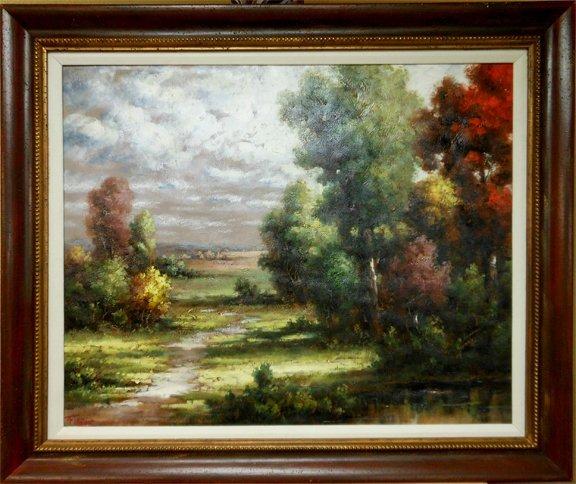 """Munoz """"Autumn Landscape"""""""