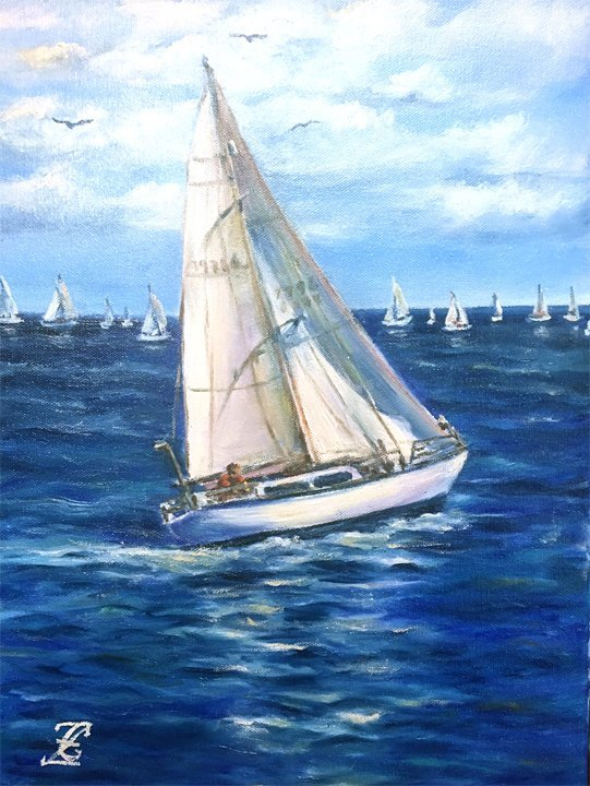 "Galina ""Catching the Wind"""