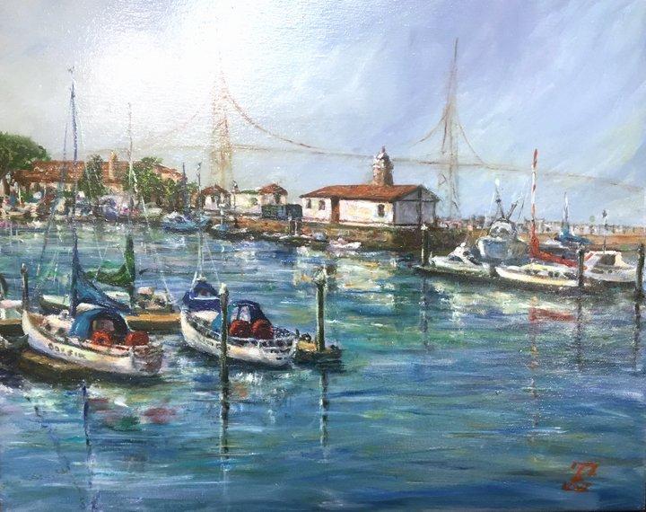 """Yacht Club, San Francisco "" by Galina"
