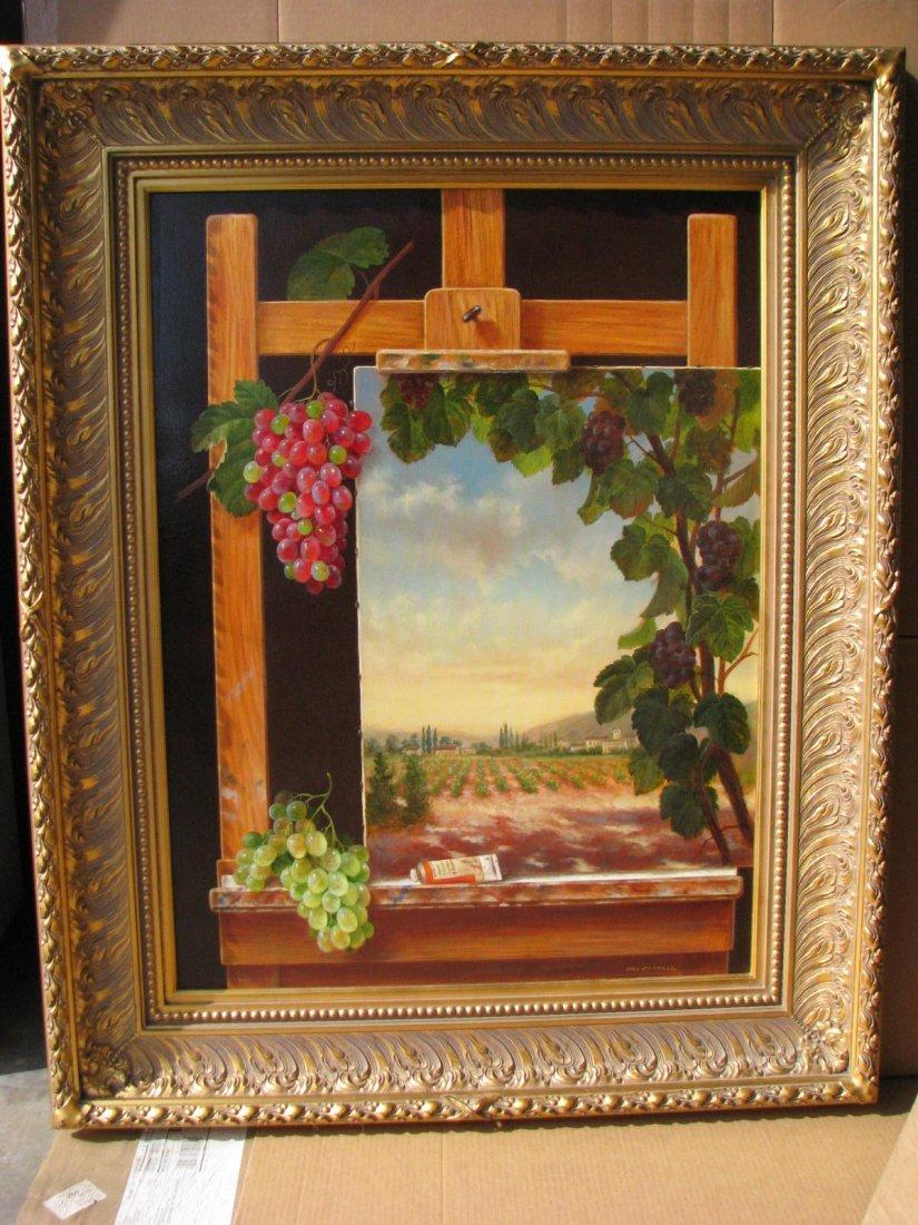Vineyard View by Del Castillo