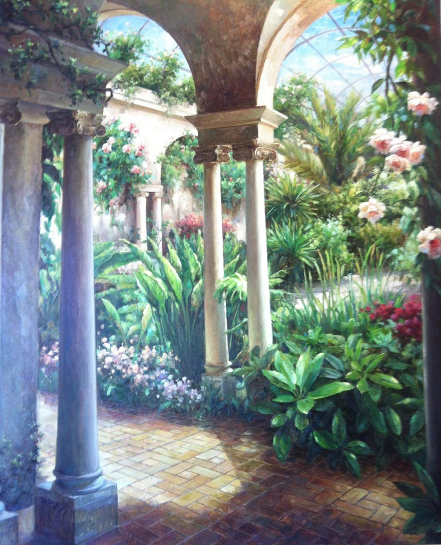 Garden View  by James Reed