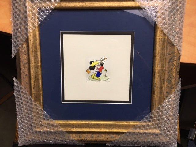 Mickey Mouse Golfing by Walt Disney Company