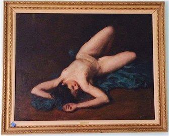 """Dana Pond """" Nude"""""""