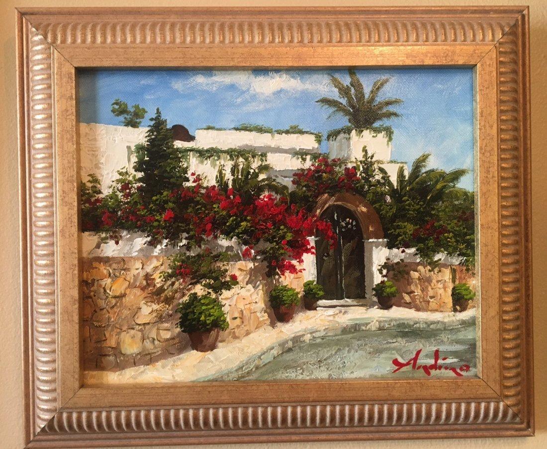 "Entrada by Andino Original Oil on canvas 8x10"""