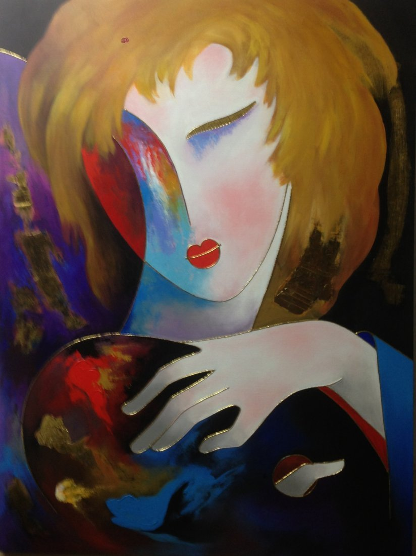 Open Palatte - By Arbe Original Painting