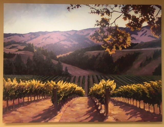 Sunlit Vines by Susan Hoehn