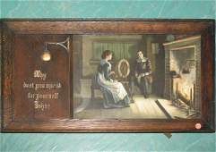 Early 1900 Arts and Crafts period print in two pa