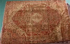 482 129 x 96 Handmade Persian Old Heriz rug Muted