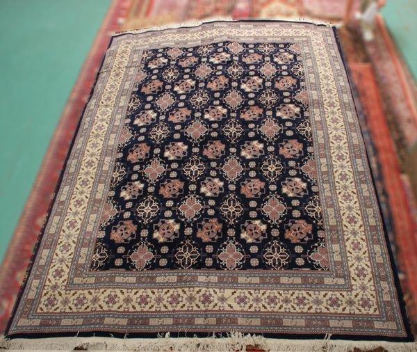 """1024: Pakistani Nain palace size wool rug, 10'2"""" x 15',"""