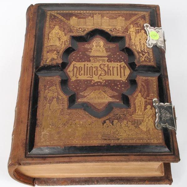 1030: Large family bible, Philadelphia 1890, German, de