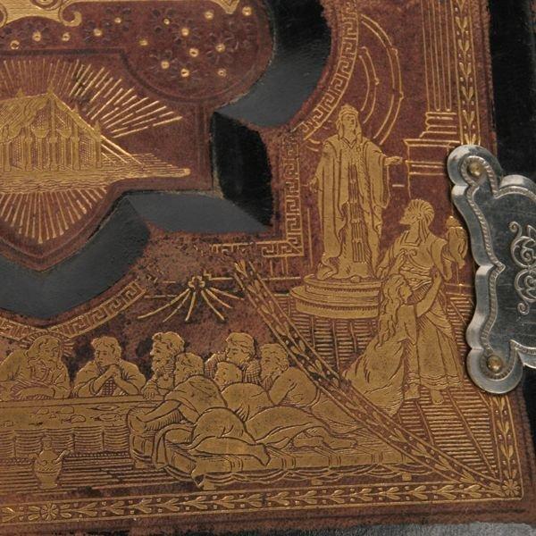 1030: Large family bible, Philadelphia 1890, German, de - 2