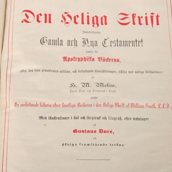 1030: Large family bible, Philadelphia 1890, German, de - 3