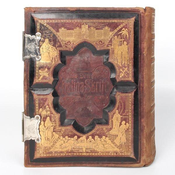 1030: Large family bible, Philadelphia 1890, German, de - 5