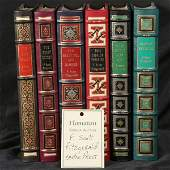 1044: 6 volumes, F. Scott Fitzgerald, Easton Press
