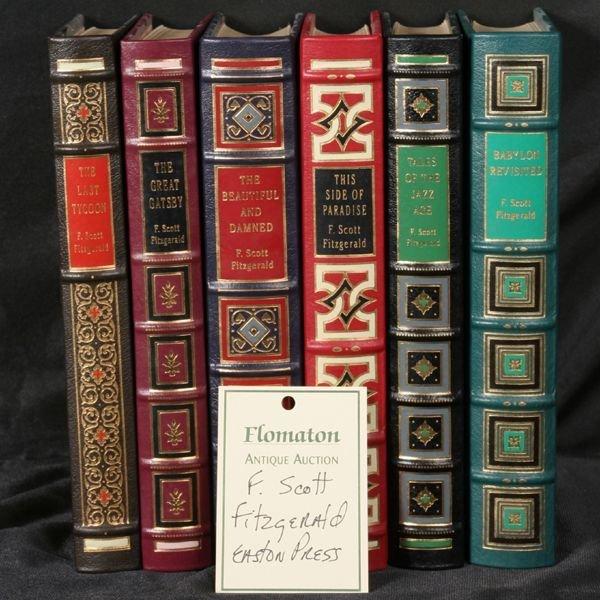 1044: 6 volumes, F. Scott Fitzgerald, Easton Press