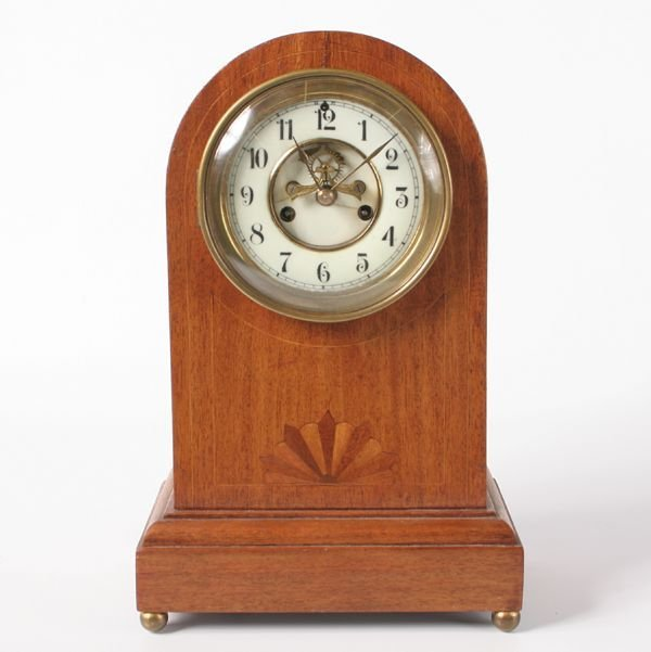 2: Circa 1900 mantle clock, Waterbury, Chesterton model