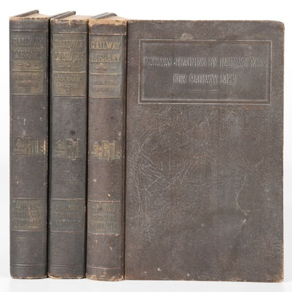 "15: Lot of three ""railway library books"", 1925, 1) Vol"